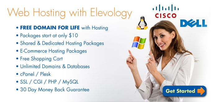Web Hosting with Elevology