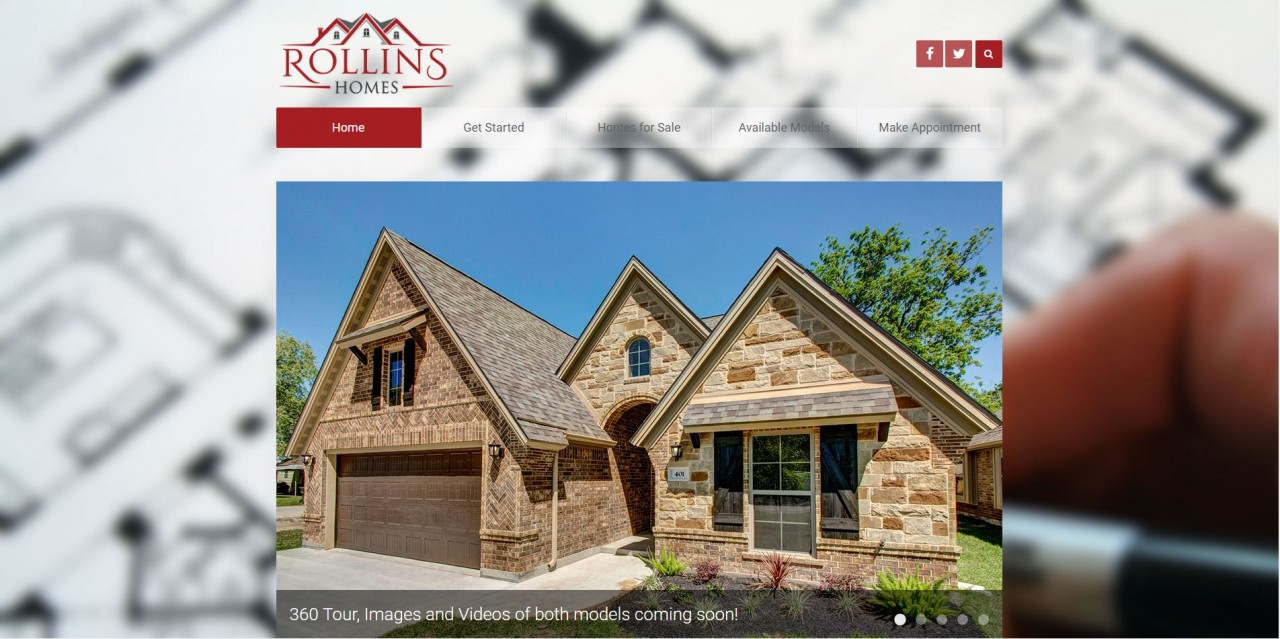 Project Spotlight: Rollins Homes Website